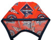 Men's Optional Sweatband Unlined Surgical Scrub Hat Handmade with  Houston Astros Champions fabric