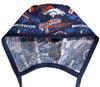 Men's Optional Sweatband Unlined Surgical Scrub Hat Handmade with  Denver Broncos Retro fabric