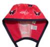 Men's Washington Capitals Two Tone Unlined Surgical Scrub Hat, Optional Sweatband,  Handmade