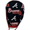 Men's Atlanta Braves Unlined Surgical Scrub Hat, Optional Sweatband, Handmade