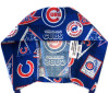Men's Chicago Cubs Vintage Semi-Lined Fold-Up Cuffed (shown) or No Cuff Surgical Scrub Hat , Handmade
