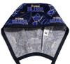 Men's St. Louis Blues Two Tone Unlined Surgical Scrub Hat, Optional Sweatband,  Handmade