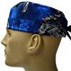 Men's Star Wars Ships Surgical Scrub Hat, Semi-Lined Fold-Up Cuffed (shown) or No Cuff, Handmade