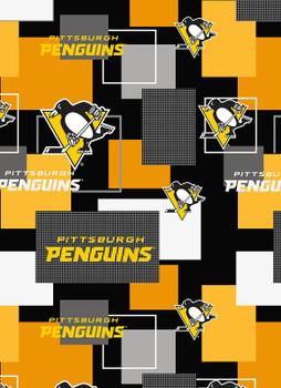 Women's Pittsburgh Penguins New Block Ponytail Surgical Scrub Hat, Plain or Fold-Up Brim Adjustable, Handmade