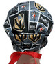 Women's Adjustable Fold-Up Pixie Surgical Scrub Hat handmade with  Vegas Golden Knights fabric