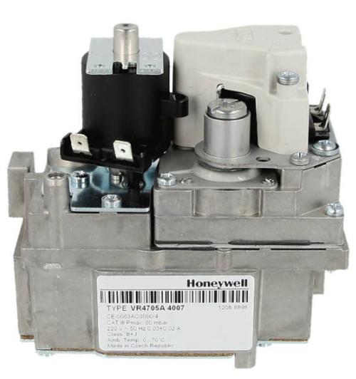 Honeywell VR4705A4007, 220V 60Hz, Gas control block