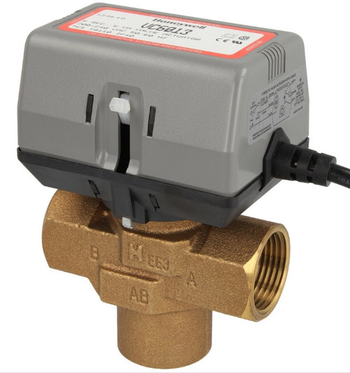 Honeywell VC6013MH6000 3-way valve, 3/4″ IT, without limit switch