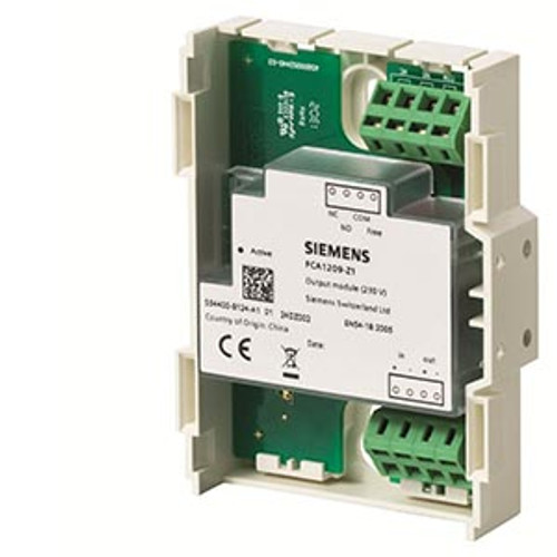 Siemens FCA1209-Z1, S54400-B124-A1 Output module (230 V)