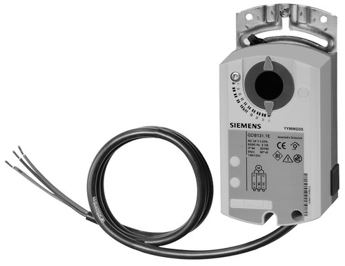 Siemens GDB131.1E air damper actuators
