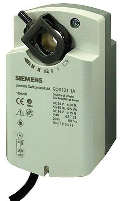 Siemens GQD121.1A , rotary air damper actuator,