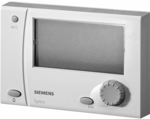 Siemens RMZ791 detached operator unit