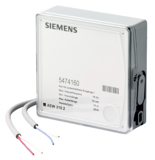 Siemens AEW310.2, M-bus pulse adapter, S55563-F130