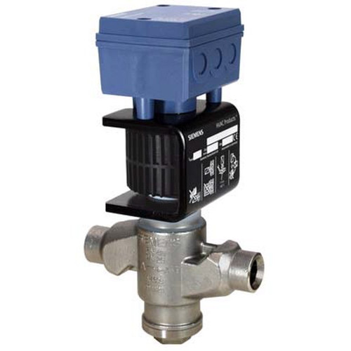 Siemens MVS661.25-2.5N, 2-port refrigerant valve