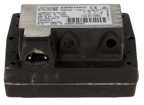 FIDA 8/20 PM, ignition transformer 25% duty cycle, small design