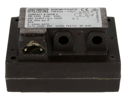 FIDA 8/20CM ignition transformer 25% duty cycle
