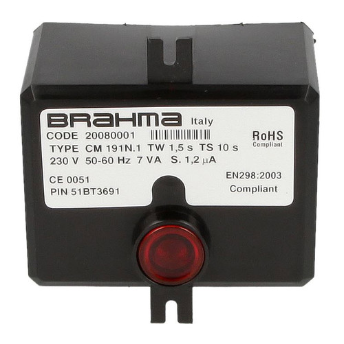 Brahma CM191.1, 20086601 burner control unit