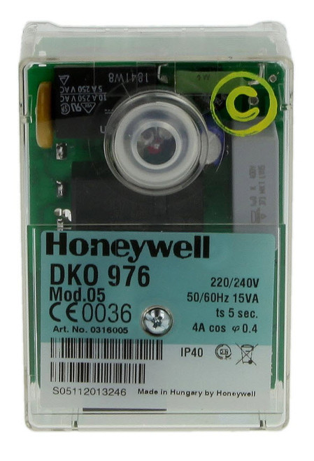 Honeywell DKO 976N Oil burner control unit, 0416005U