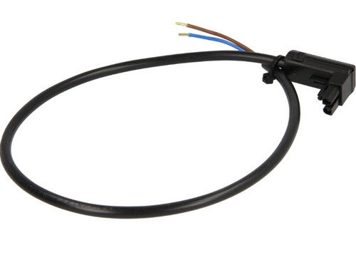 Satronic cable for photoconductive cell FZ, MZ,with plug, angle, 7225001, 2-pole