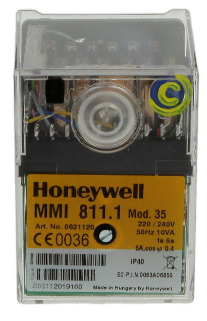 Honeywell MMI 811 mod. 35 Satronic 0621120U, Gas burner control unit