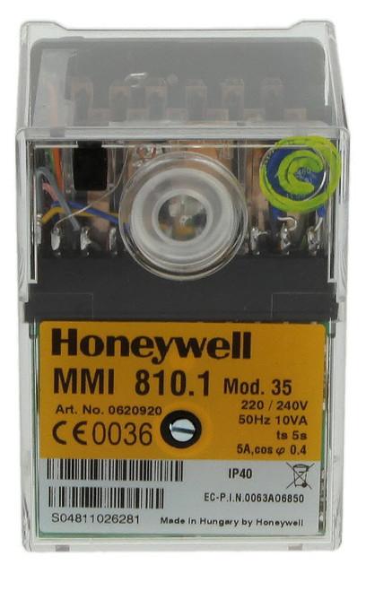 Honeywell MMI 810 mod. 35 Satronic 0620920U, Gas burner control unit
