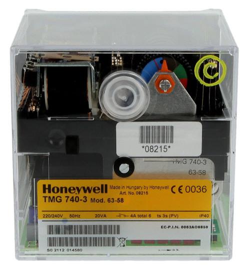 Honeywell TMG 740-3, mod. 63-58, Satronic 08215U, Combined burner control unit