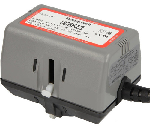 Honeywell VC 6613ZZ00 actuator 230V/50Hz cable connection