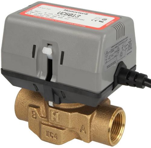 "Honeywell VC6013AJ1000 2-way VC valve 3/4"" IT without limit switch"