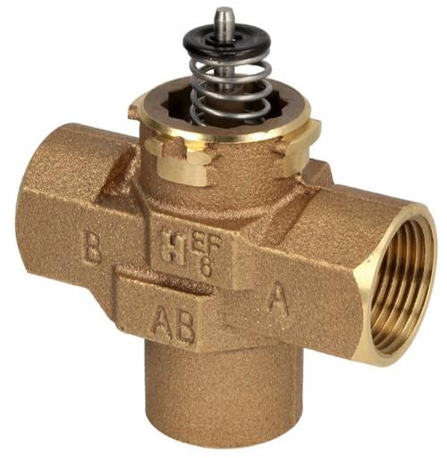 "Honeywell VCZMP6000, 1"" IT, Three-way diverter valve"