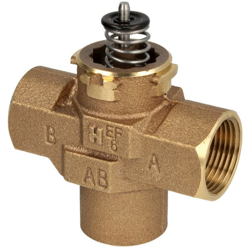"Honeywell VCZMH6000E, 3/4"" IT, Three-way diverter valve"