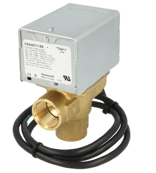 "Honeywell V4044C1189 3/4"" IT Three-way zone valve"