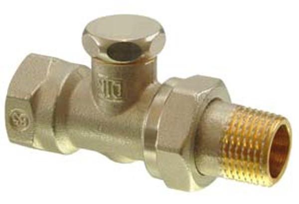 Siemens ADN15 two-port seat lockshield valve