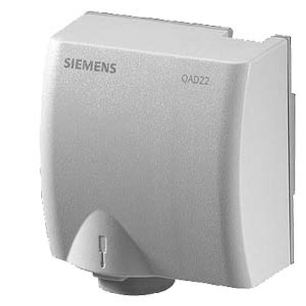 Siemens QAD2010, Strap-on temperature sensor Pt100