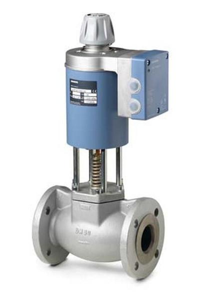 Siemens MVF461H15-3 , 2-port seat magnetic control valve