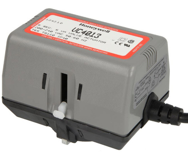 Honeywell VC4013ZZ00 actuator valve EPE 230V/50Hz cable connection