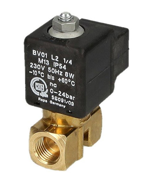 "Rapa EL BV01L2, 1/4"", solenoid valve for heating oil"