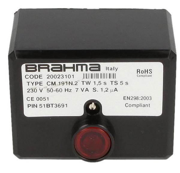 Brahma 20023101, CM191N.2 gas burner control unit