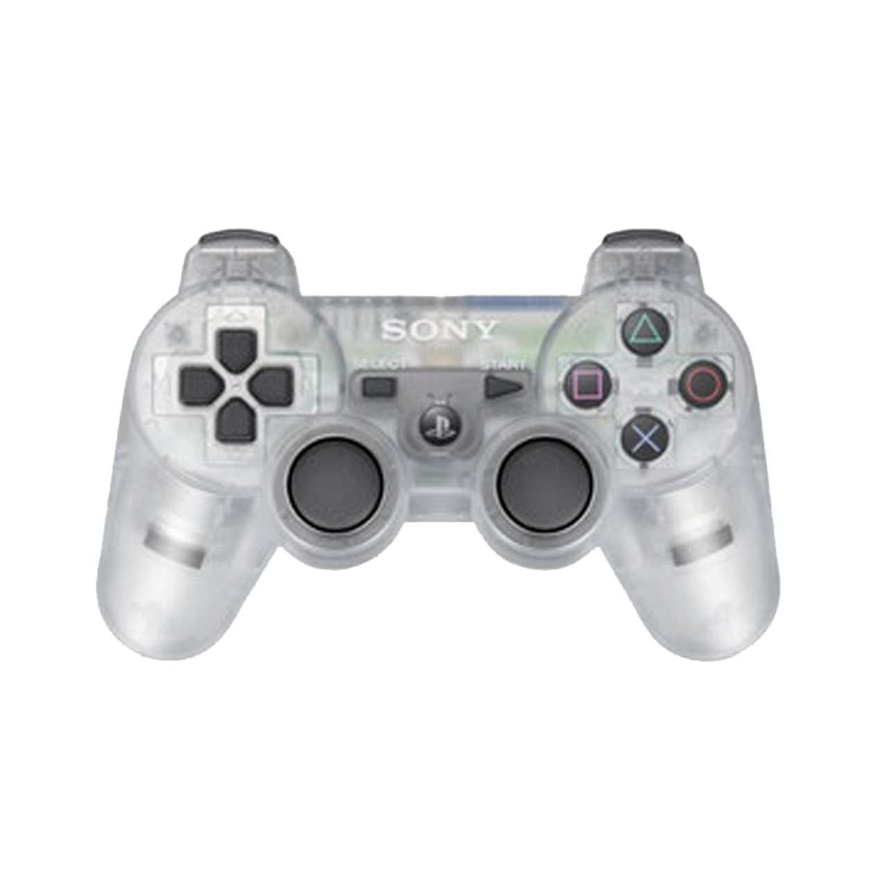 Sony Playstation 3 Dualshock 3 Game Pad Ps3 Wireless Bluetooth Controller Frost Clear Custom Game Case