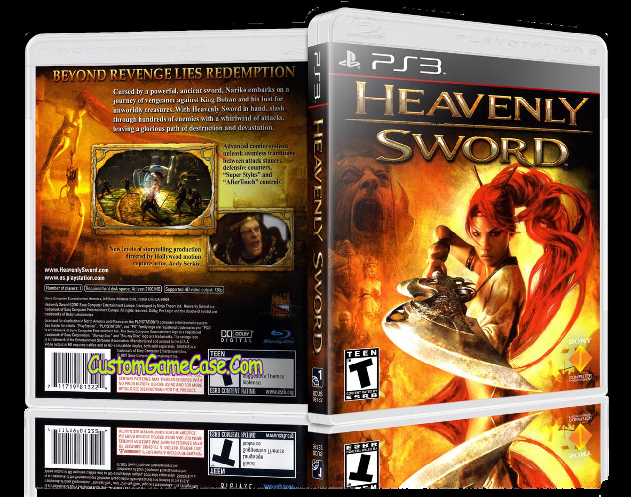 ps3 game heavenly sword