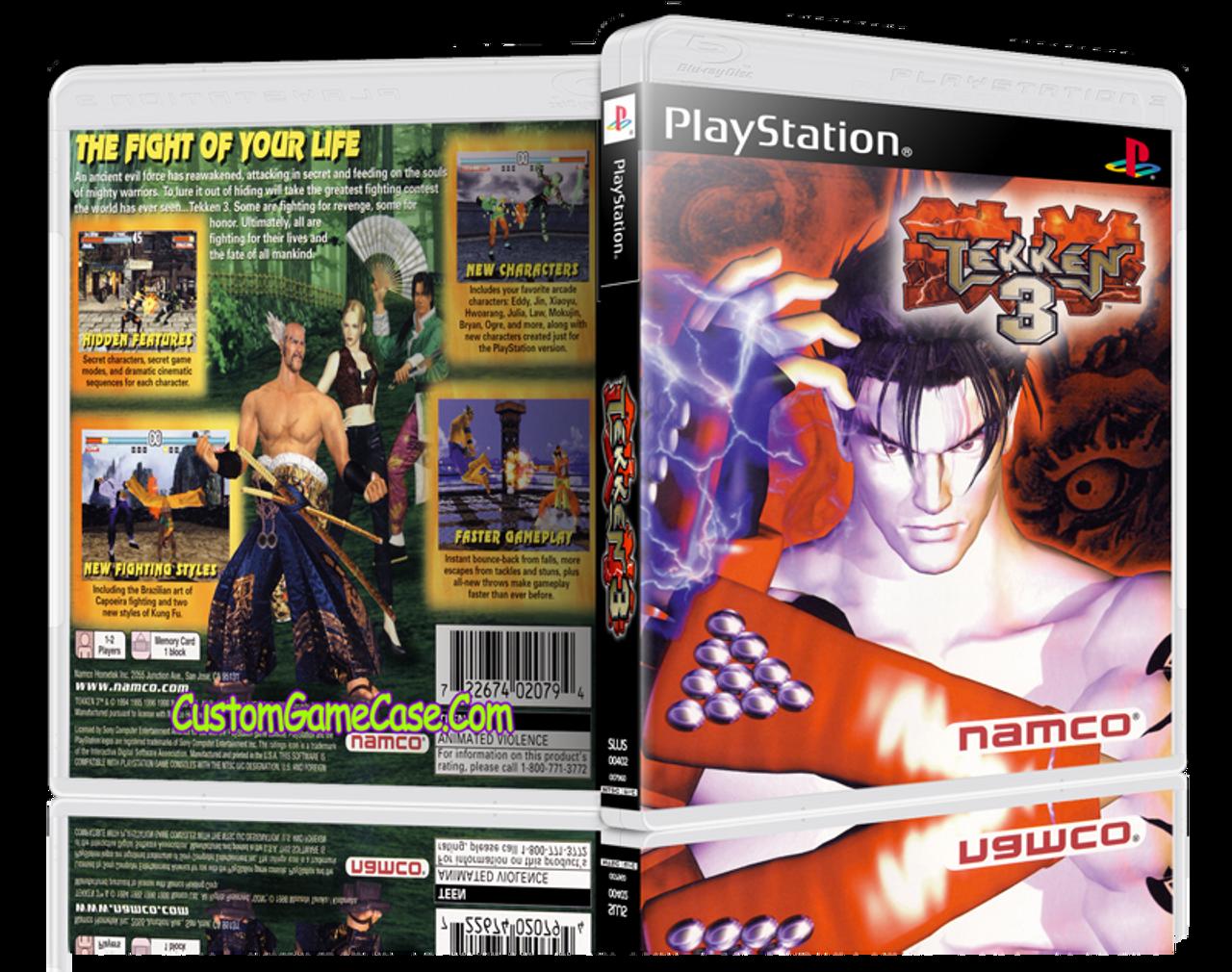 Tekken 3 Characters