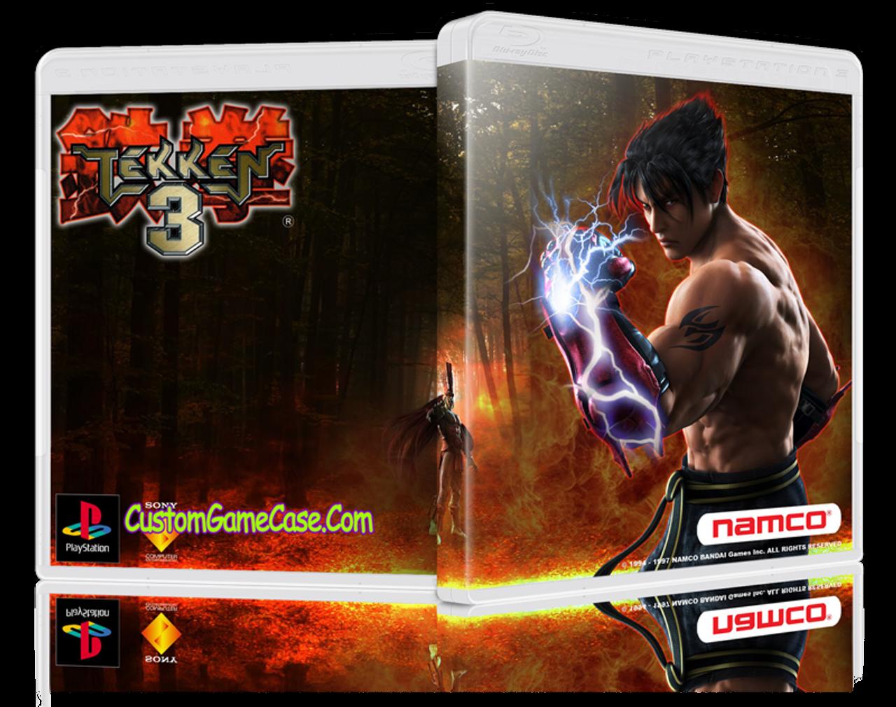 Tekken 3 Sony Playstation 1 Psx Ps1 Empty Custom Case Custom