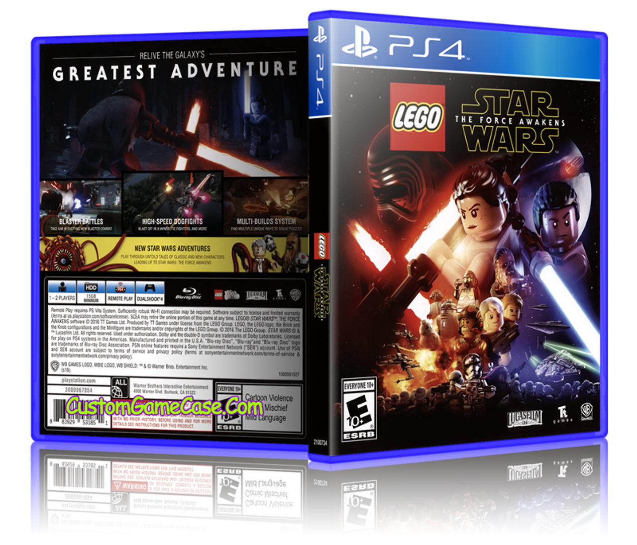 lego star wars the force awakens  sony playstation 4 ps4