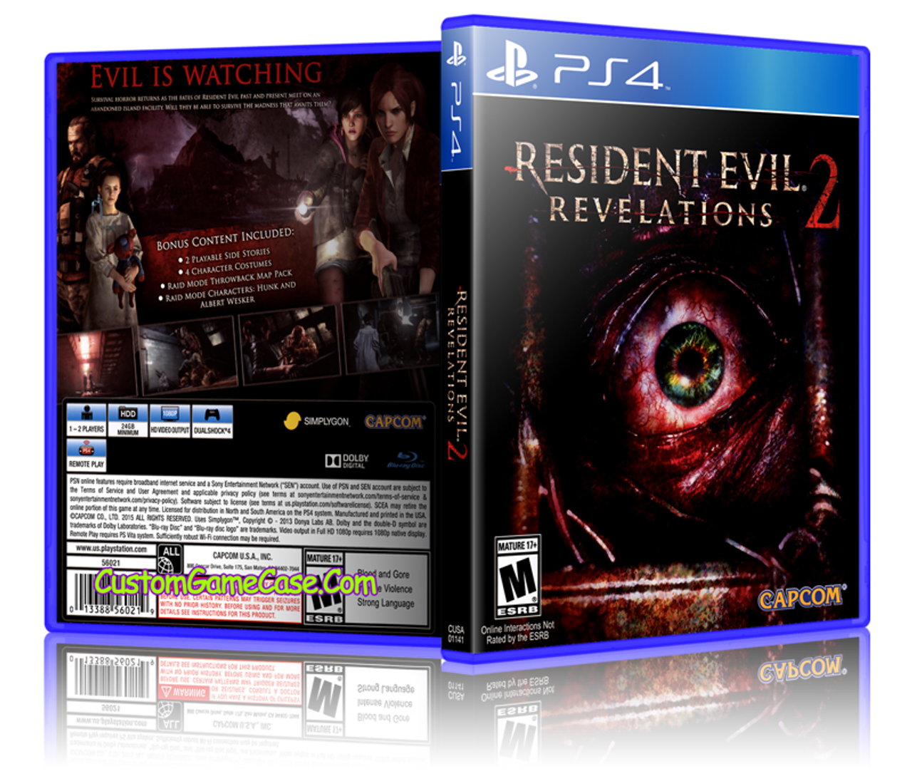 Video Games & Consoles Revelations Sony Ps3 Replacement Game Case And Cover Resident Evil