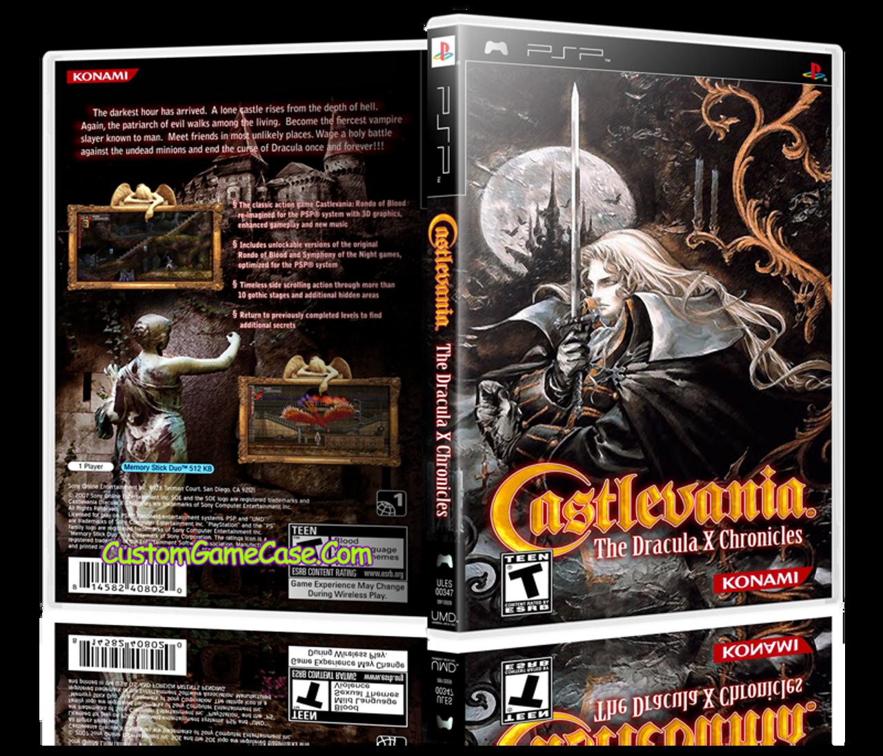 Castlevania psp games