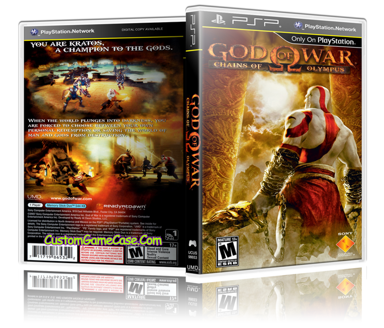 god of war chains of olympus game