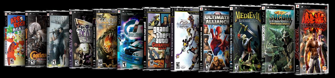 PSP Empty Case Singles