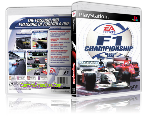 Formula 1 F1 Championship 2000 - Sony PlayStation 1 PSX PS1 - Empty Custom Case