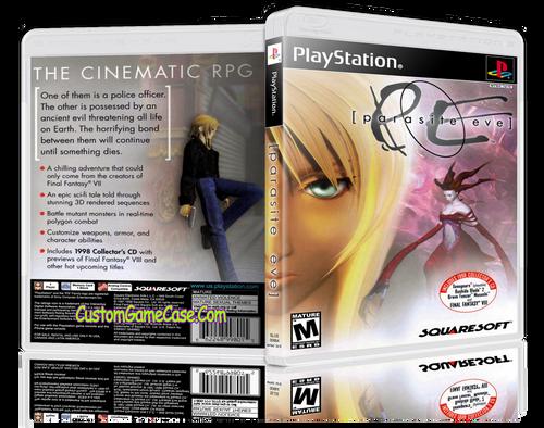 Parasite Eve Sony PlayStation 1 PSX PS1 - Empty Custom Case