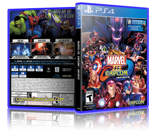 Marvel Vs Capcom Infinite Custom Replacement Case