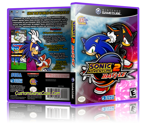 Sonic Adventure Battle Custom Case
