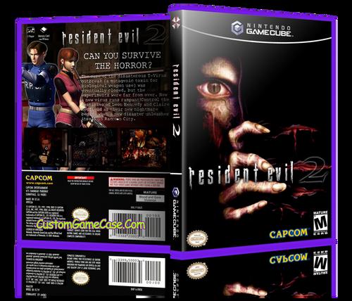 Resident Evil 2 Custom Game Case